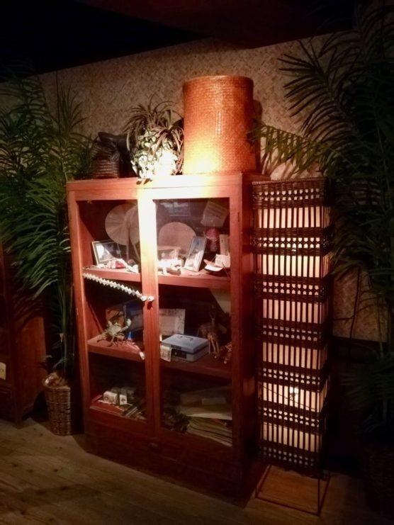 博士の探検小屋の演出(飾り棚2)