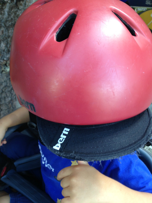 [レビュー]子供用 ヘルメット bern ! 3年目突入♪