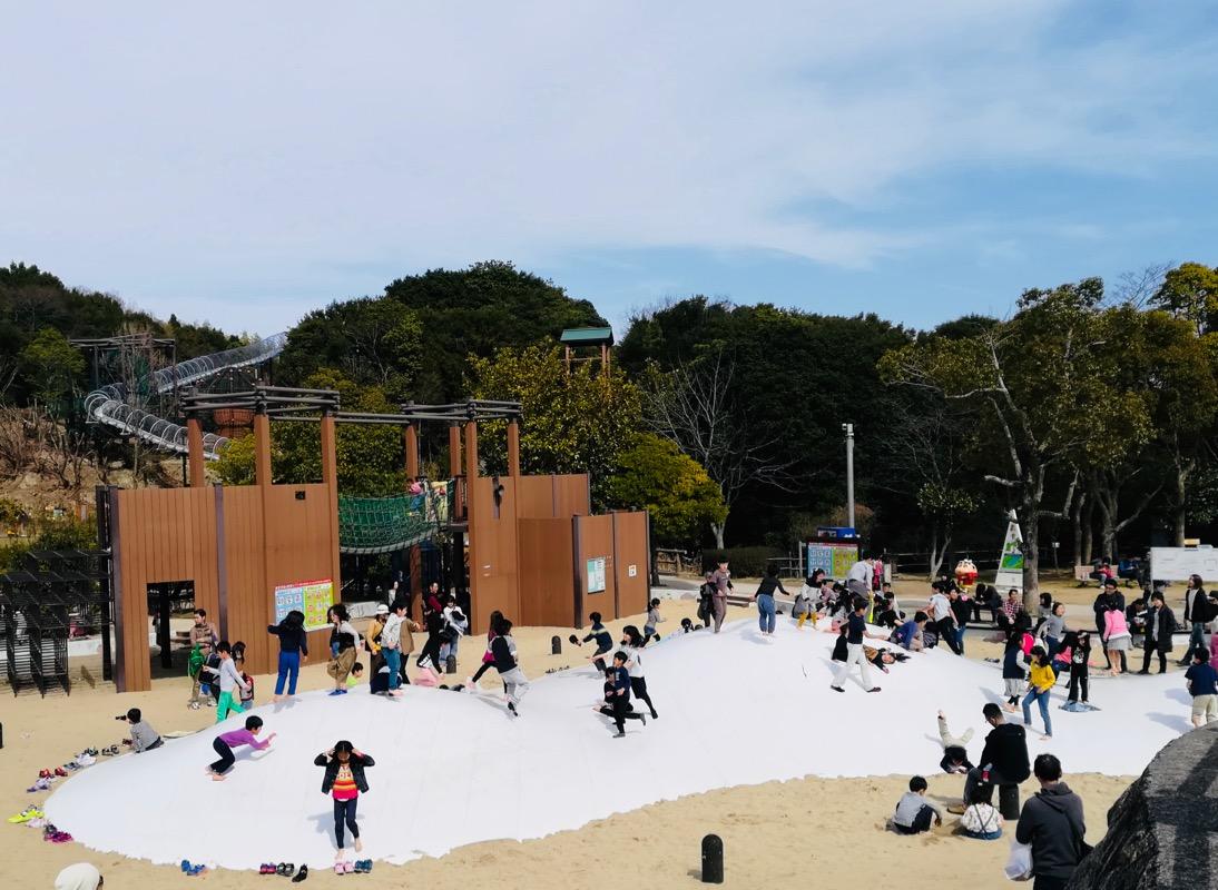 淡路島公園は無料で遊具が充実!子供が思い切り楽しめる公園です。_マルキの育児グッズブログ5
