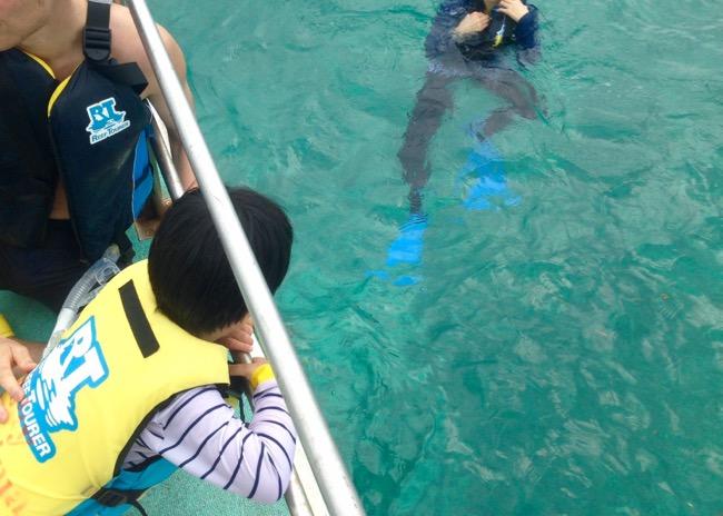 2015小浜島はいむるぶし旅行記 〜3日目〜_3日目は小浜島の海で初シュノーケル!