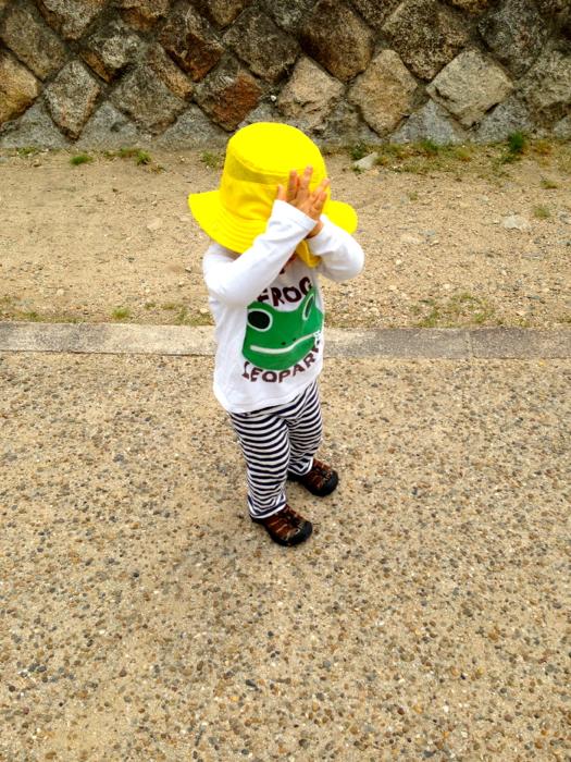 [レビュー]ノースフェイス ウサギ ヤング ハット(2歳編) 〜予想外の2年目大活躍!