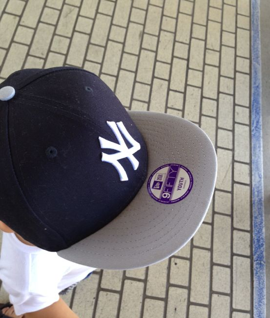 3歳児の2代目帽子はニューエラ(New Era)のキャップ(キッズ)に決定!