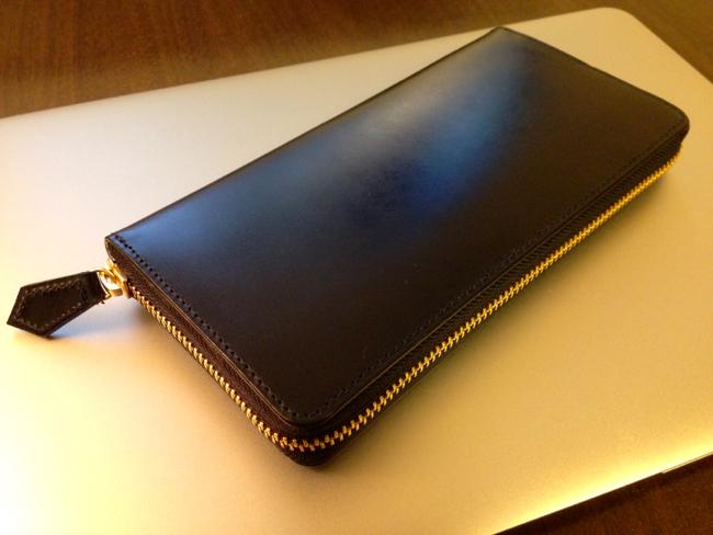 マルキ、長財布を買いました