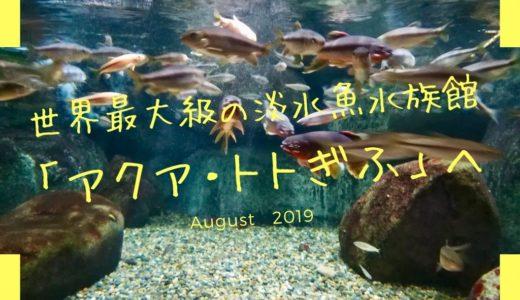 水辺の自然も楽しめる世界最大級の淡水魚水族館「アクア・トト ぎふ」へ。