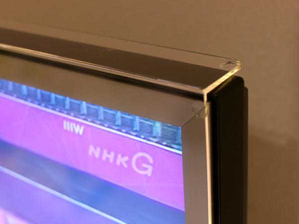液晶テレビ保護パネルに付いている透明ゴム