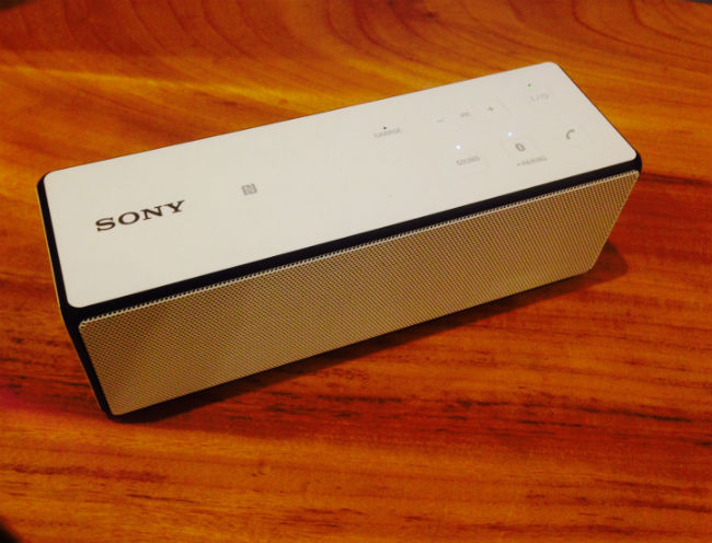 SONYのBluetoothスピーカー SRS-X33_2、とても良いです^^-マルキの育児グッズブログ-