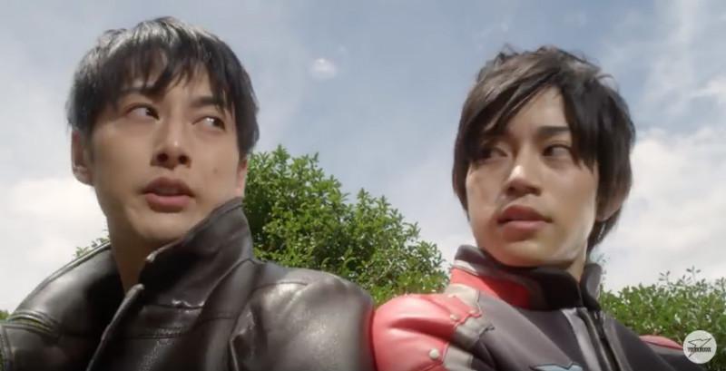 ケンの初映画『劇場版ウルトラマンオーブ』と回る寿司。